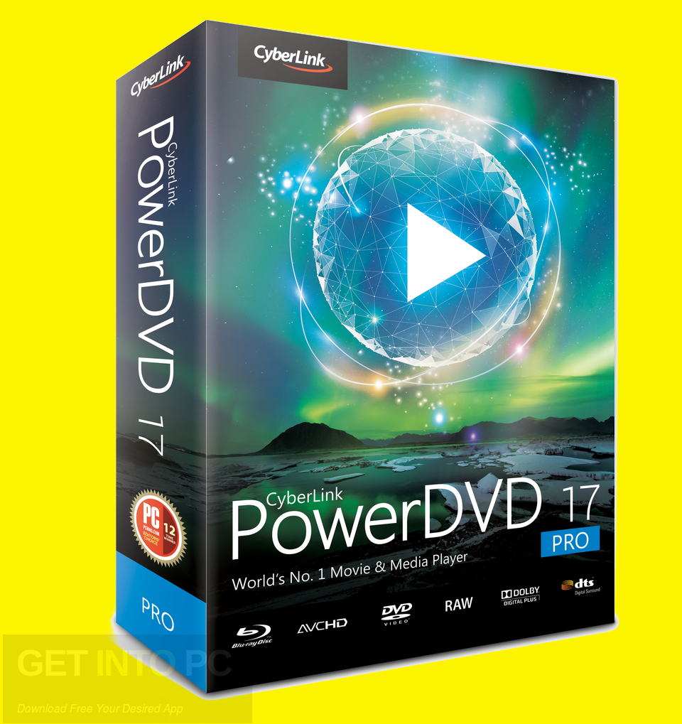 CyberLink PowerDVD Pro 17 Free Download - Get into PC