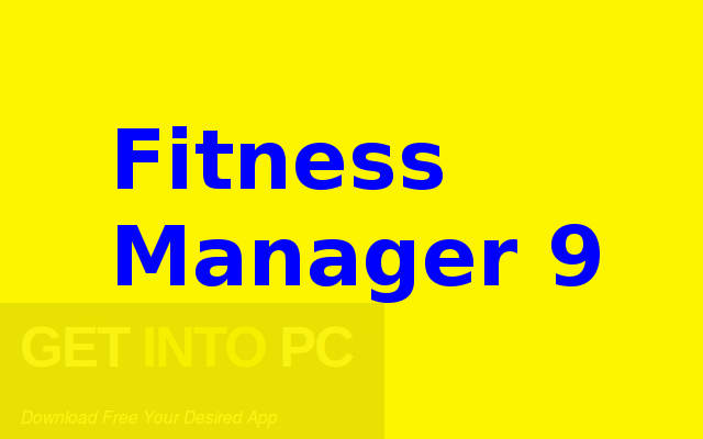 Fitness Manager 9 Free Download