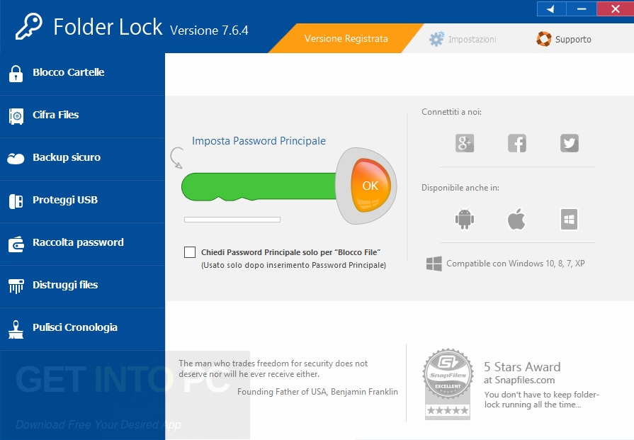 Folder Lock v7.6.9 Latest Version Download