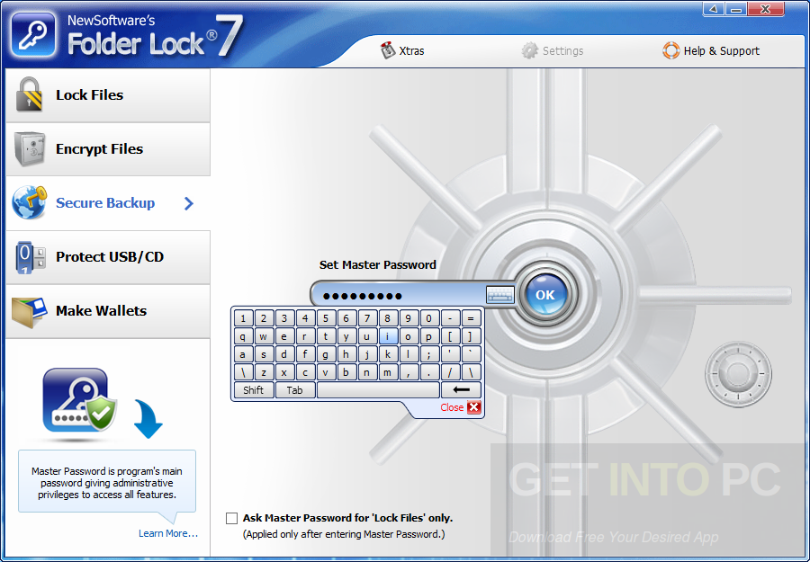 Folder Lock v7.6.9 Setup Free Download