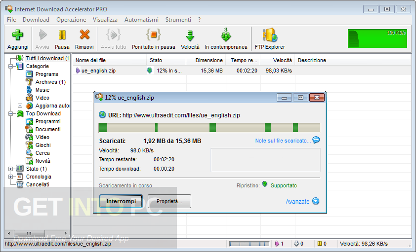 Internet Download Accelerator Pro Portable Offline Installer Download