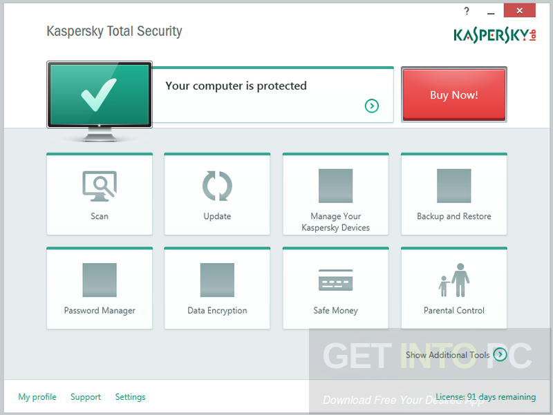 Kaspersky Total Security 2017 Latest Version Download