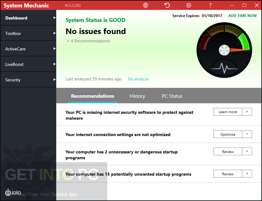 System Mechanic v16.5.3.1 Direct Link Download