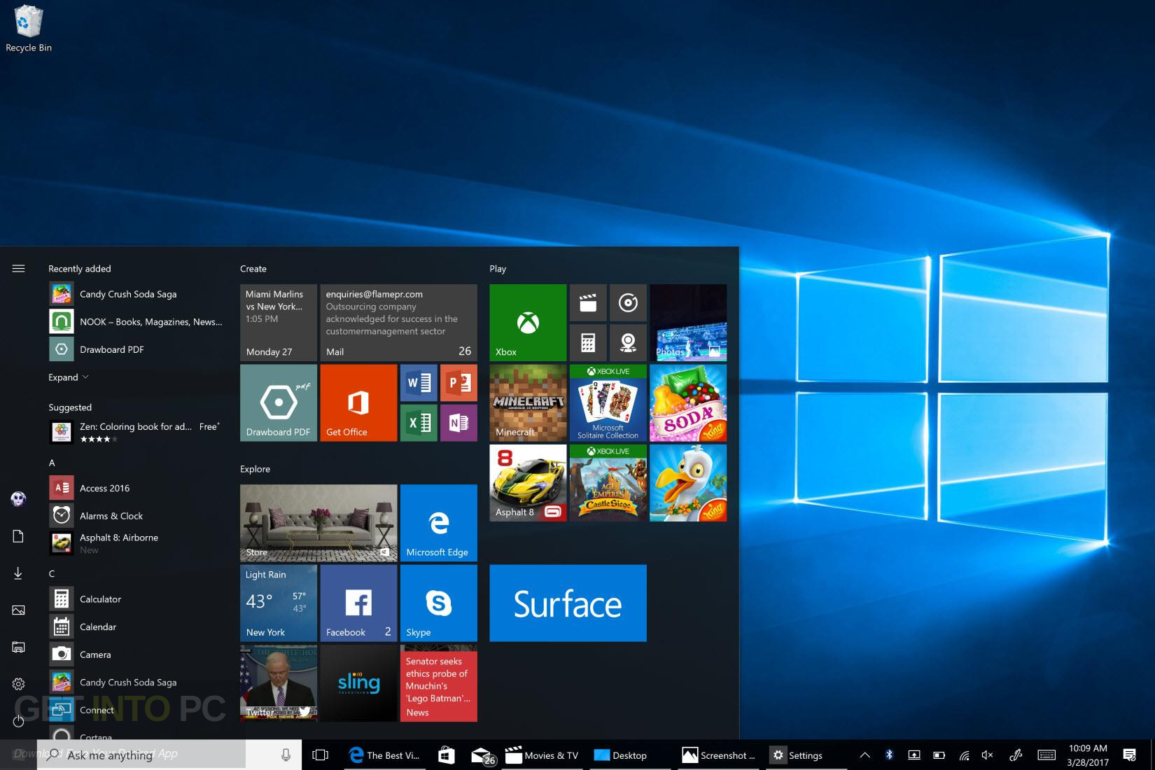 Download Windows 10 All in One x64 ISO May 2017