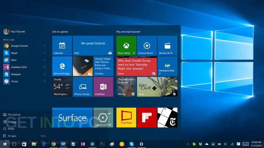 Windows 10 All in One x86 ISO With May 2017 Updates Direct Link Download
