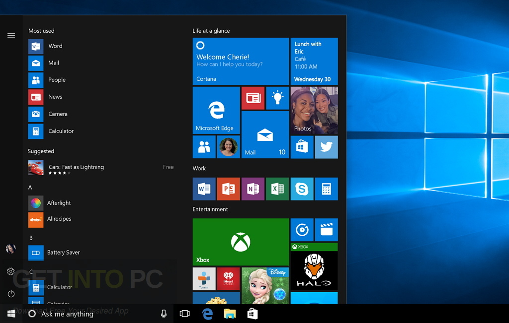 Windows 10 Pro RS2 v1703.15063.296 x64 ISO Download