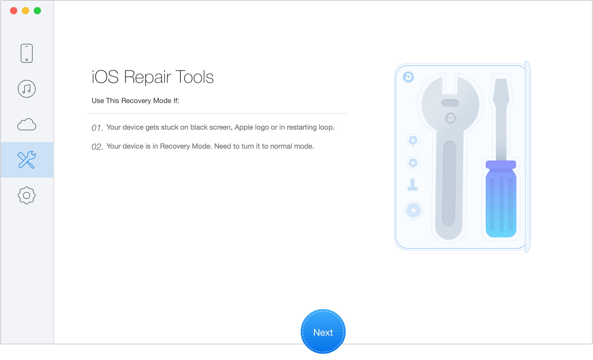 Download iphone repair os tool