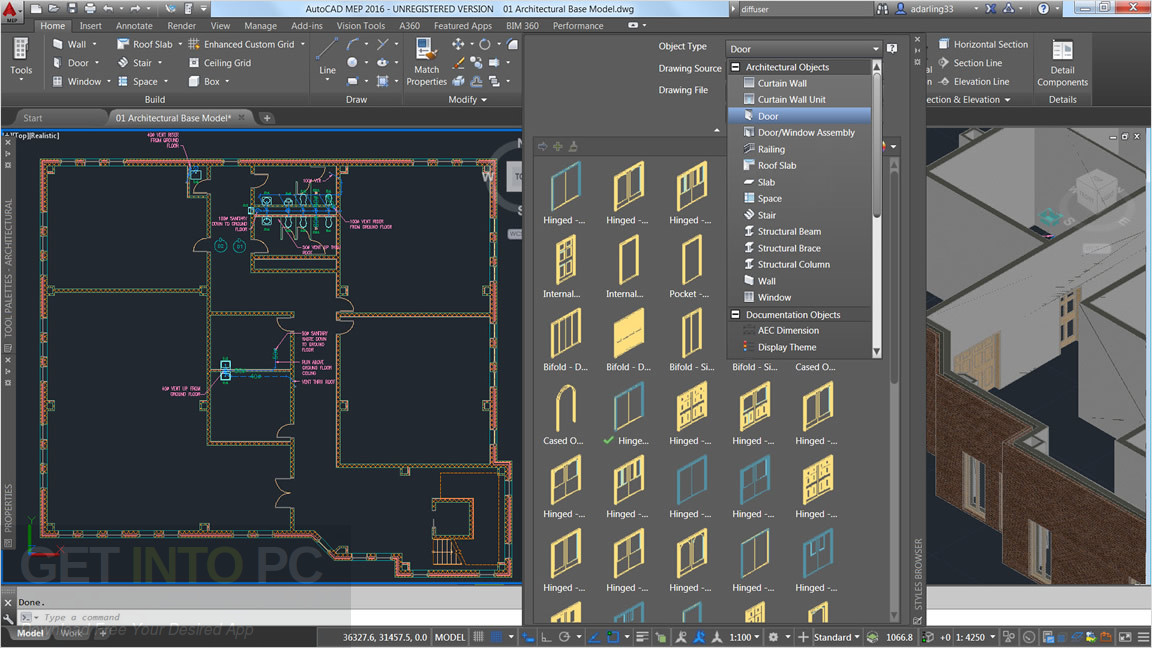 Autocad architecture 2018 free download for 3d drawing online no download