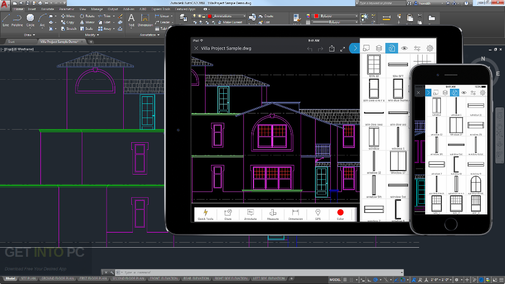 Autodesk AutoCAD 2017 DMG For Mac OS Offline Installer Download