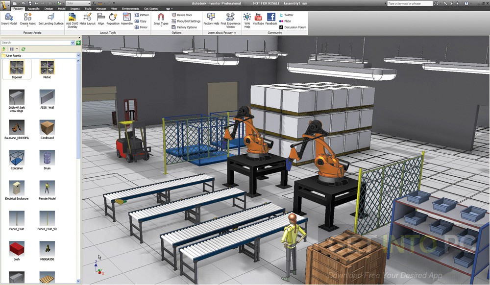 Autodesk Factory Design Utilities 2018 Direct Link DOwnload