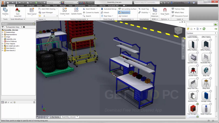 Autocad design suite cad design software autodesk autos post for Machine shop layout software