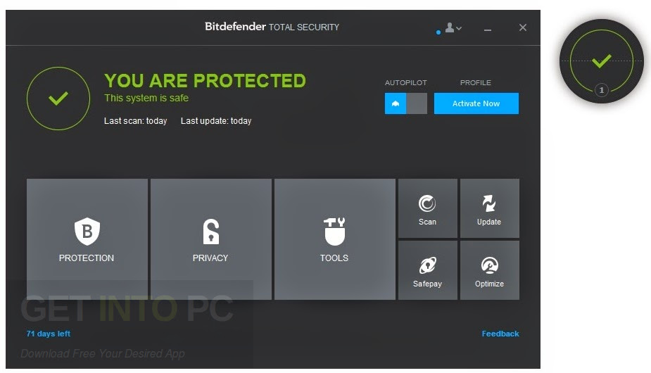 Bitdefender Total Security 2017 Offline Installer Download