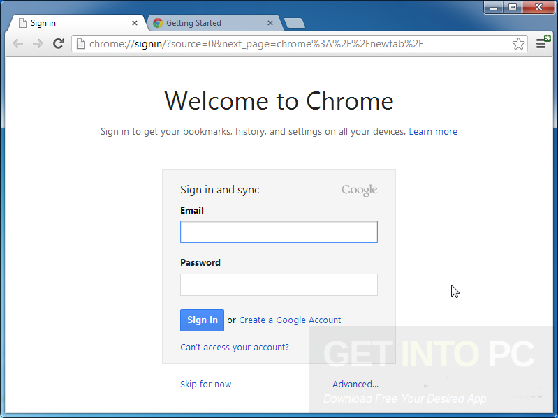 Google Chrome 58.0.3029.110 Latest Version Download