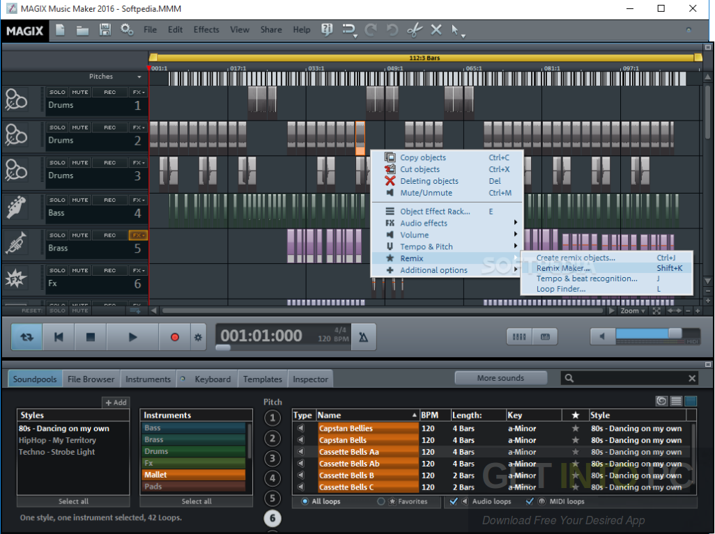 magix music maker 17 free software download