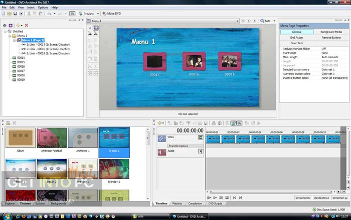 MAGIX Vegas DVD Architect 7 Offline Installer Download