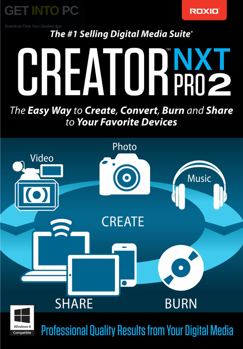 Roxio Creator NXT Pro 3 Free Download