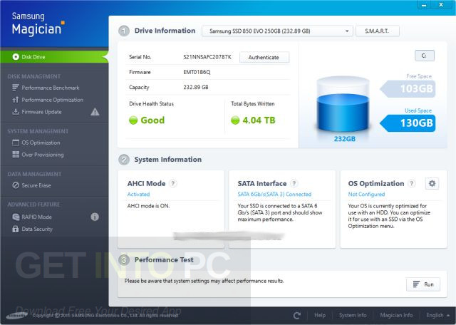Samsung SSD Magician Latest Version Download