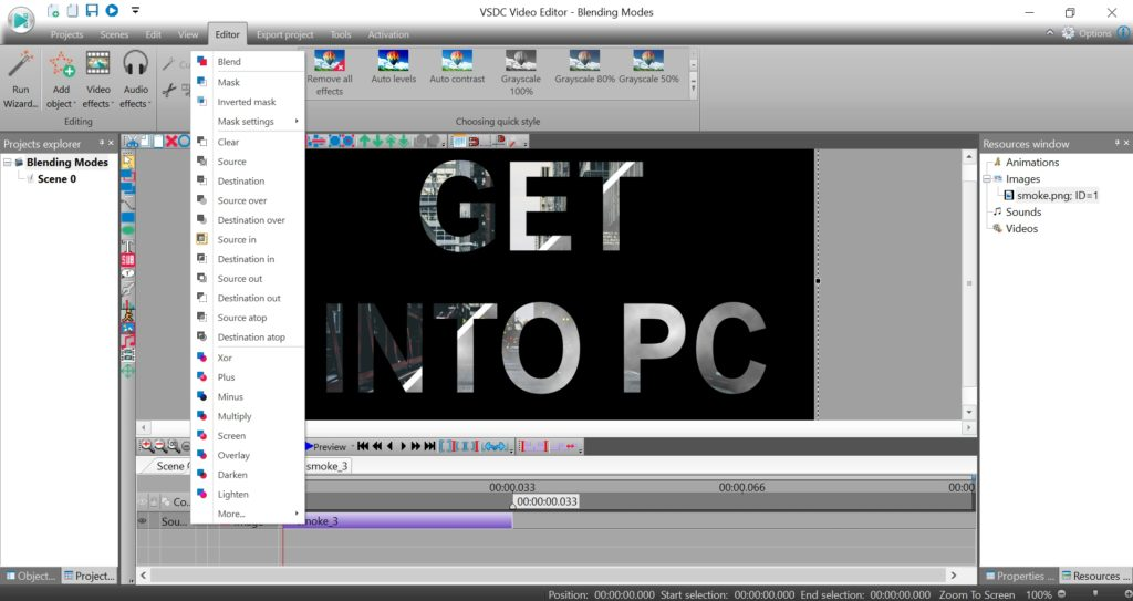 Video Editor best for windows