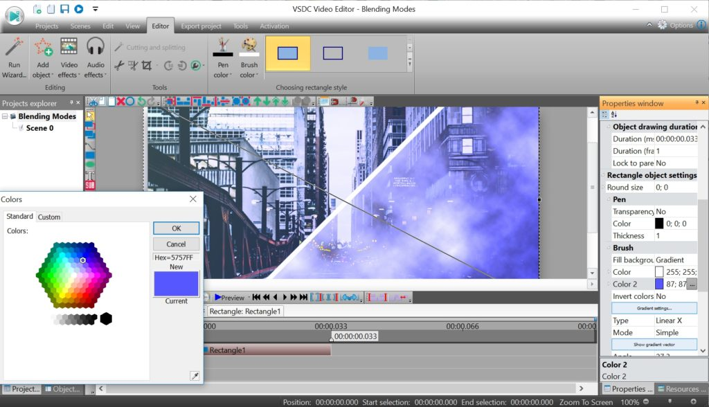 VSDC Video Editor for Windows Free Download