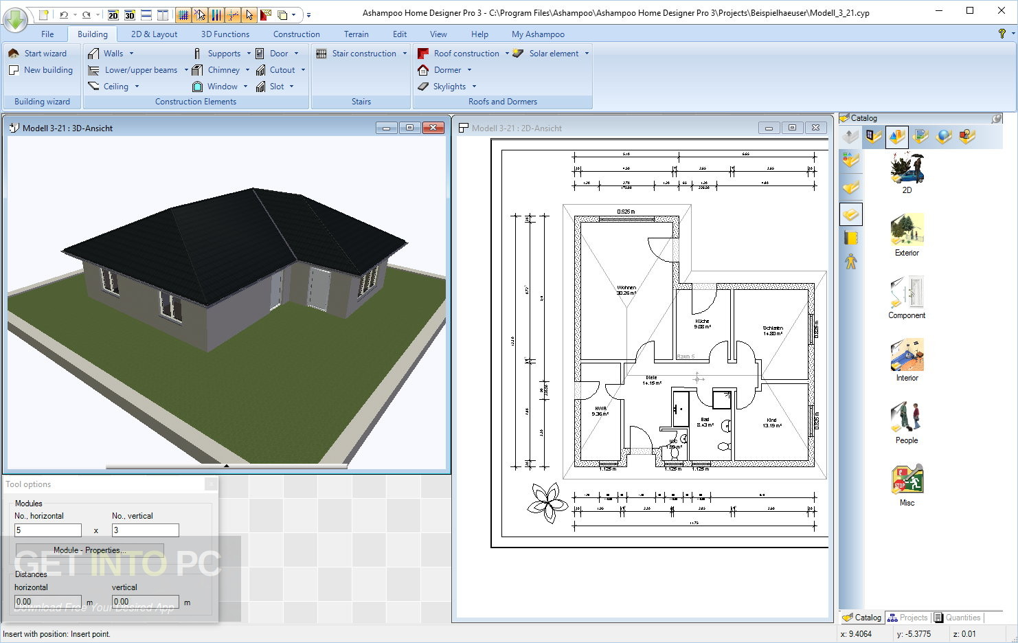 Home Design Pro Part - 27: Ashampoo Home Designer Pro 4.1.0 Latest Version Download