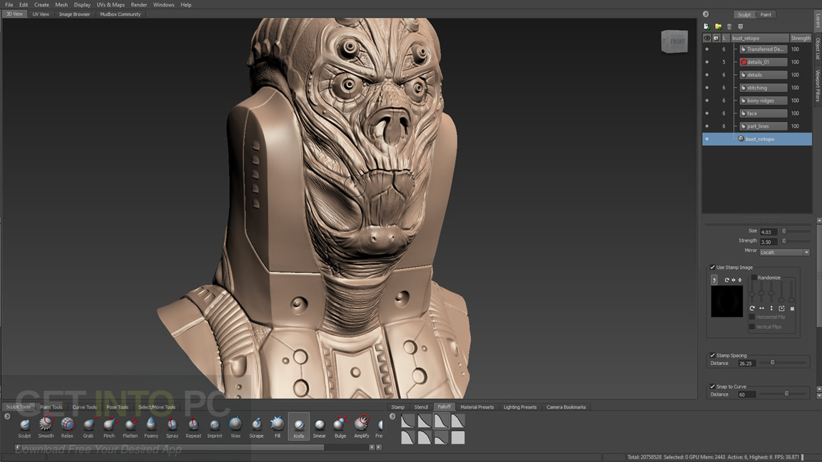 Autodesk Mudbox 2017 Latest Version Download