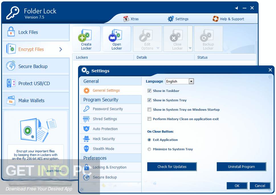 Folder Lock 7.7 Direct Link Download