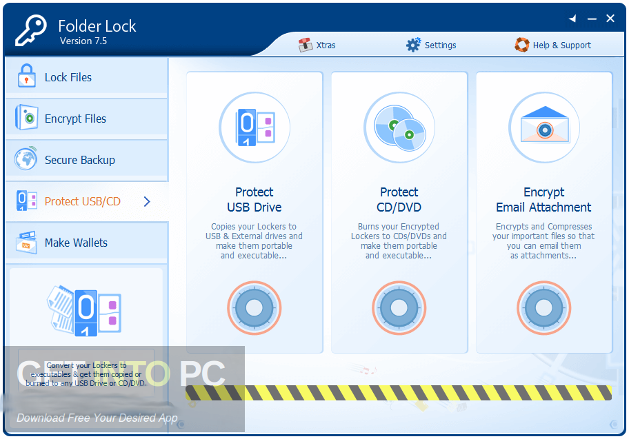 18 software to password protect / encrypt files and hide secret.