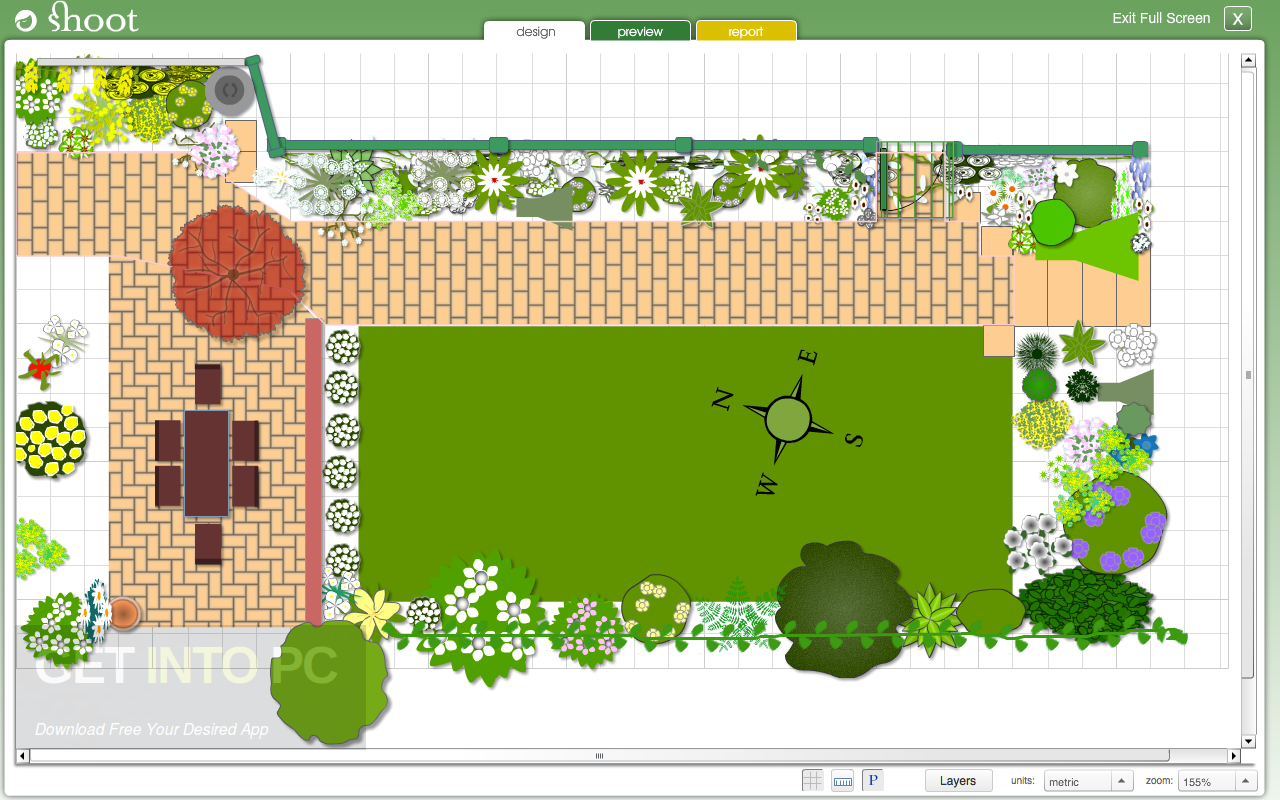 Garden planner free download for Patio planner online free