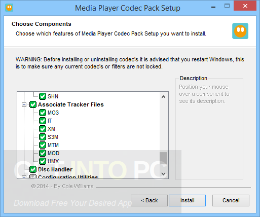 Media Player Codec Pack 4.4.5.707 Direct Link Download