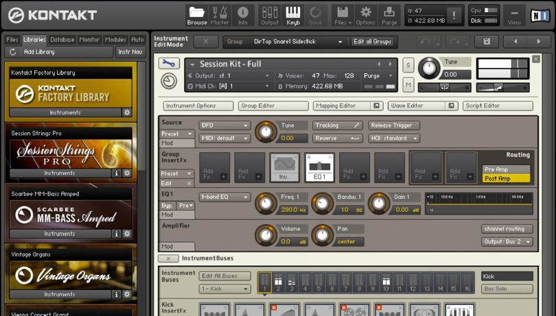Native Instruments Kontakt 5.6.8 Offline Installer Download