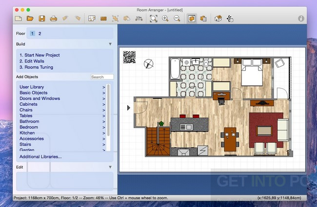 Room Arranger 9.3.0.595 Direct Link Download