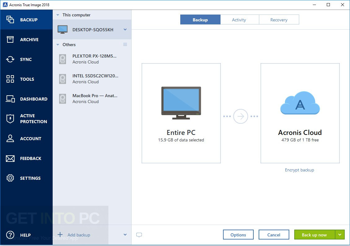 Image result for Acronis True Image 2018 download