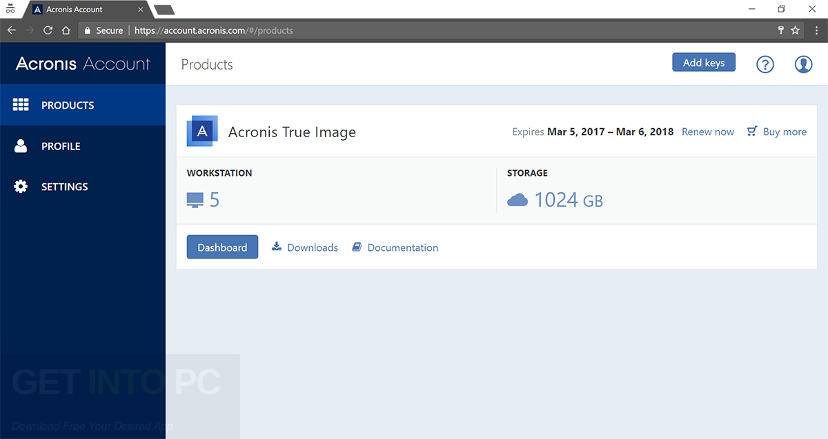 Acronis True Image 2018 Offine Installer Download