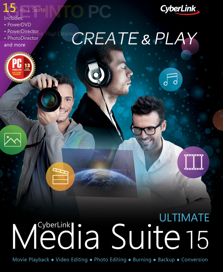 Cyberlink media suite 15 ultimate free download.