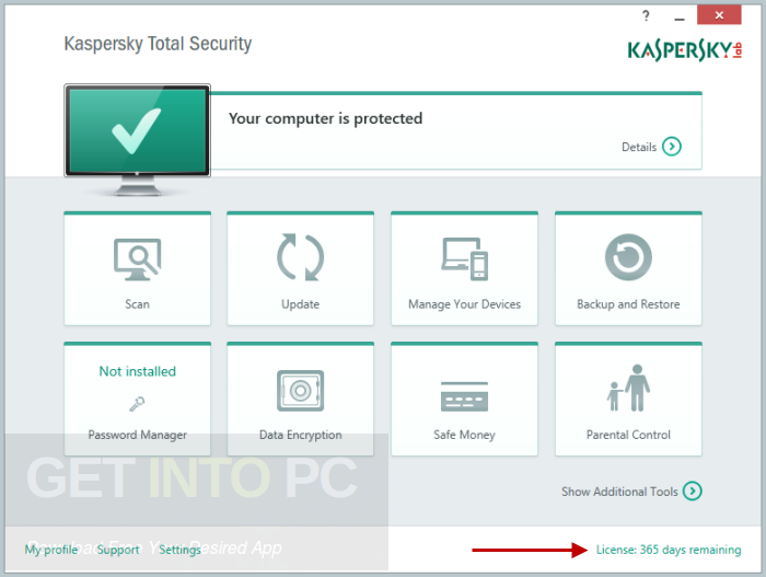 Kaspersky Total Security 2018 Direct Link Download