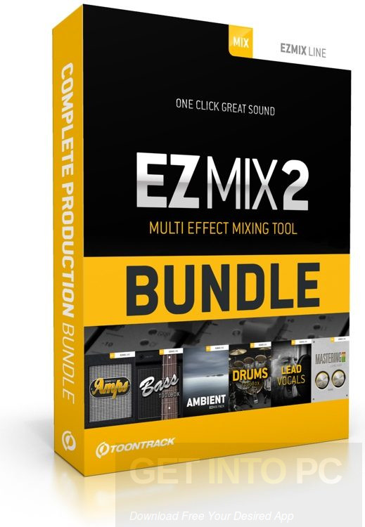 Download Toontrack EZMix 2 With Expansion Pack