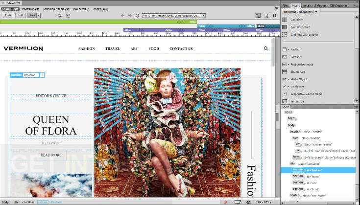 ​Adobe Dreamweaver CC 2017 v17.5.0.9878 Latest Version Download
