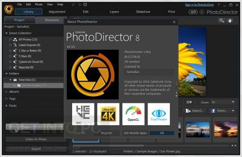 ?CyberLink PhotoDirector Ultra 8.0.3019.0 Offline Installer Download
