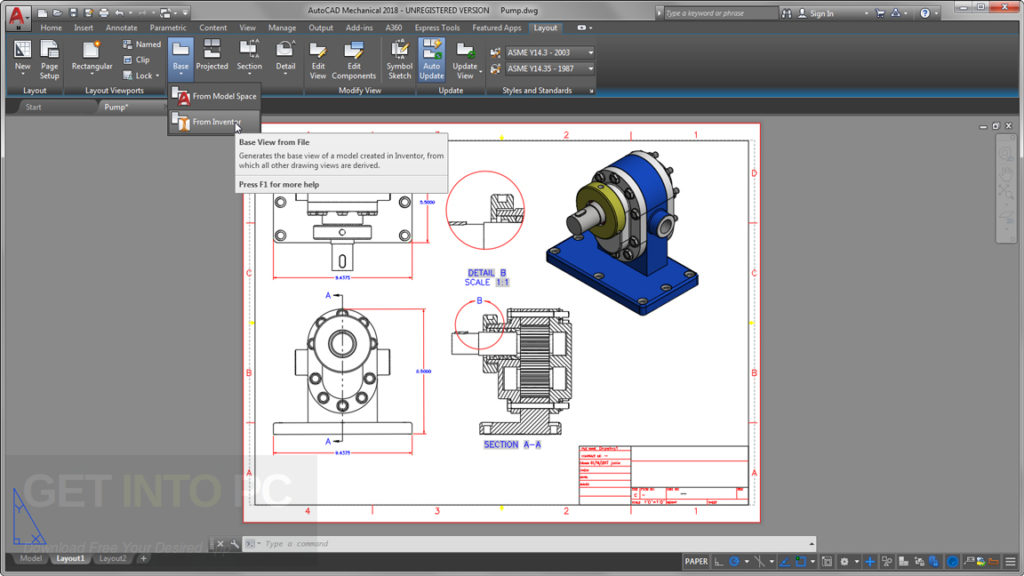 Autodesk AutoCAD Mechanical 2018 Latest Version Download