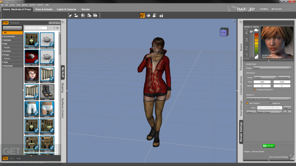 DAZ Studio Pro Latest Version Download