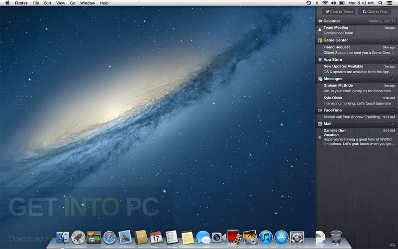 Mac OSX Mountain Lion v10.8.3 Direct Link Download