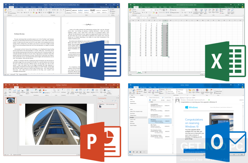 Microsoft Office Professional Plus 2016 32 Bit Sep 2017 Direct Link Download