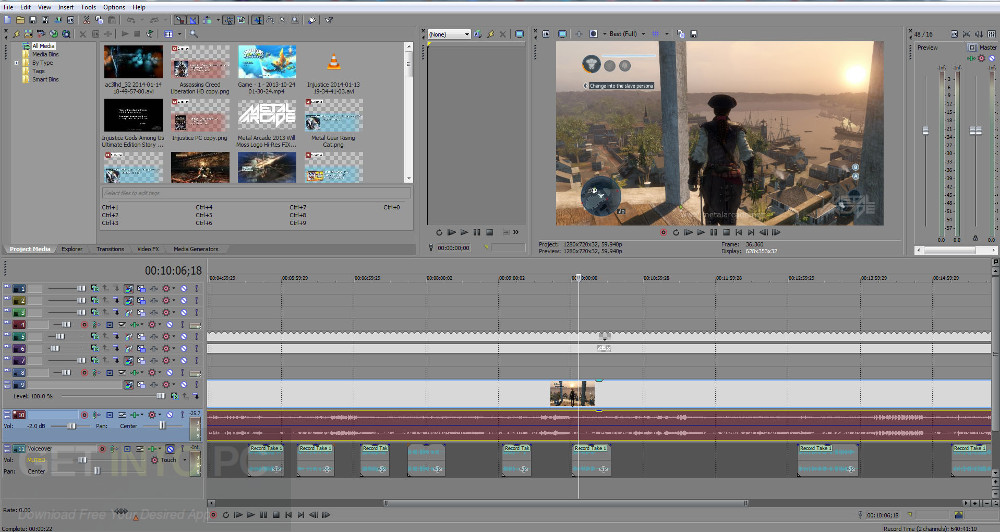 Sony Vegas Pro 15 Latest Version Download