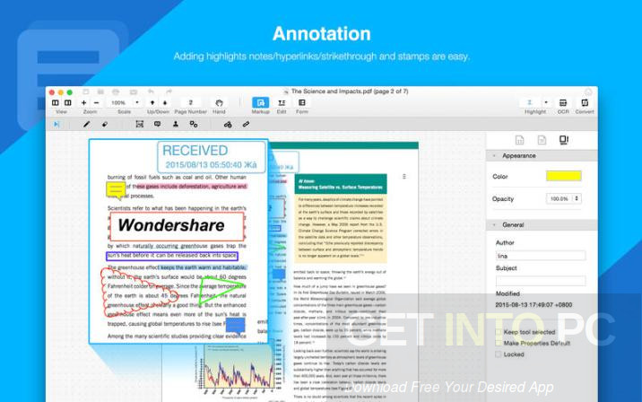 Wondershare PDF Element 5.5.1 Direct Link Download