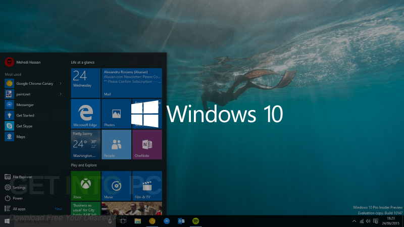 ​Windows 10 Lite Edition v4 x86 2017 Direct Link Download