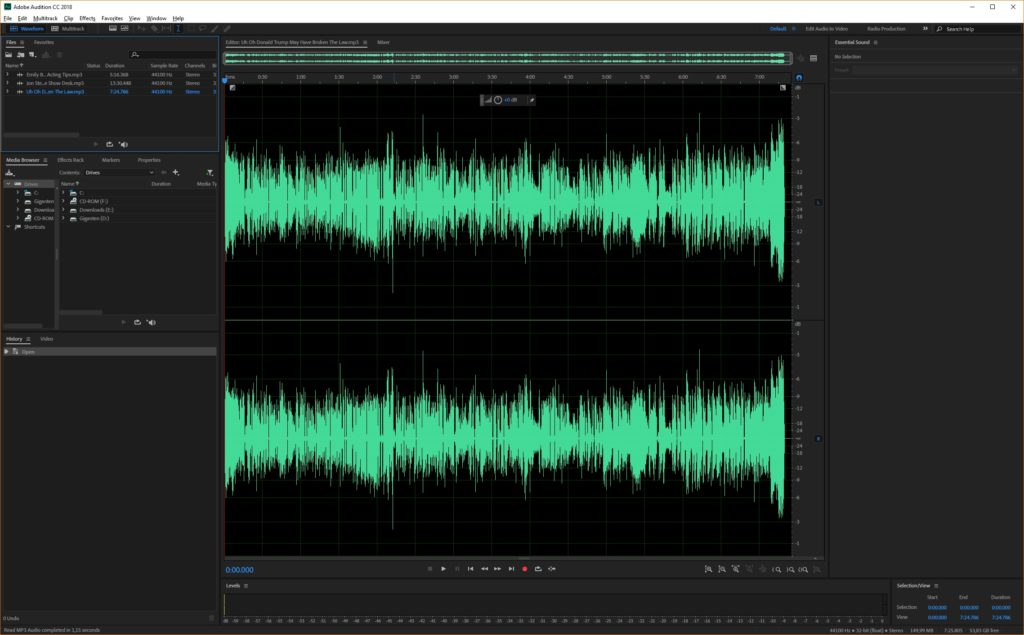 Adobe Audition CC 2018 Offline Installer Download