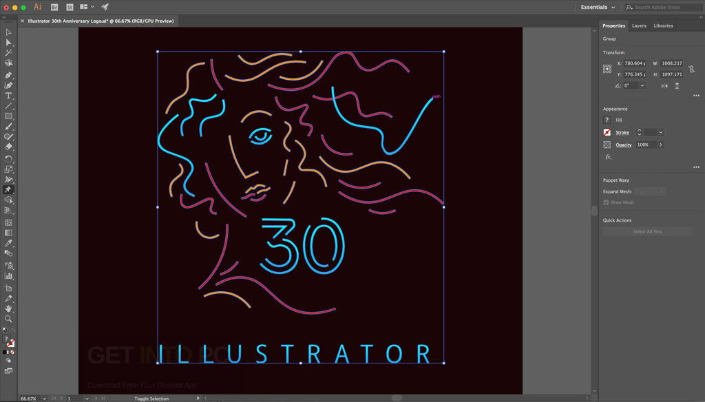 Adobe Illustrator CC 2017 Offline Installer Download