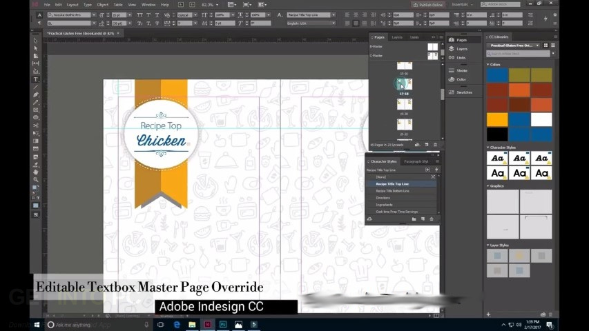 Adobe InDesign CC 2018 Free Download