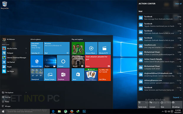 Windows 10 Pro RS3 v1709 Latest Version Download
