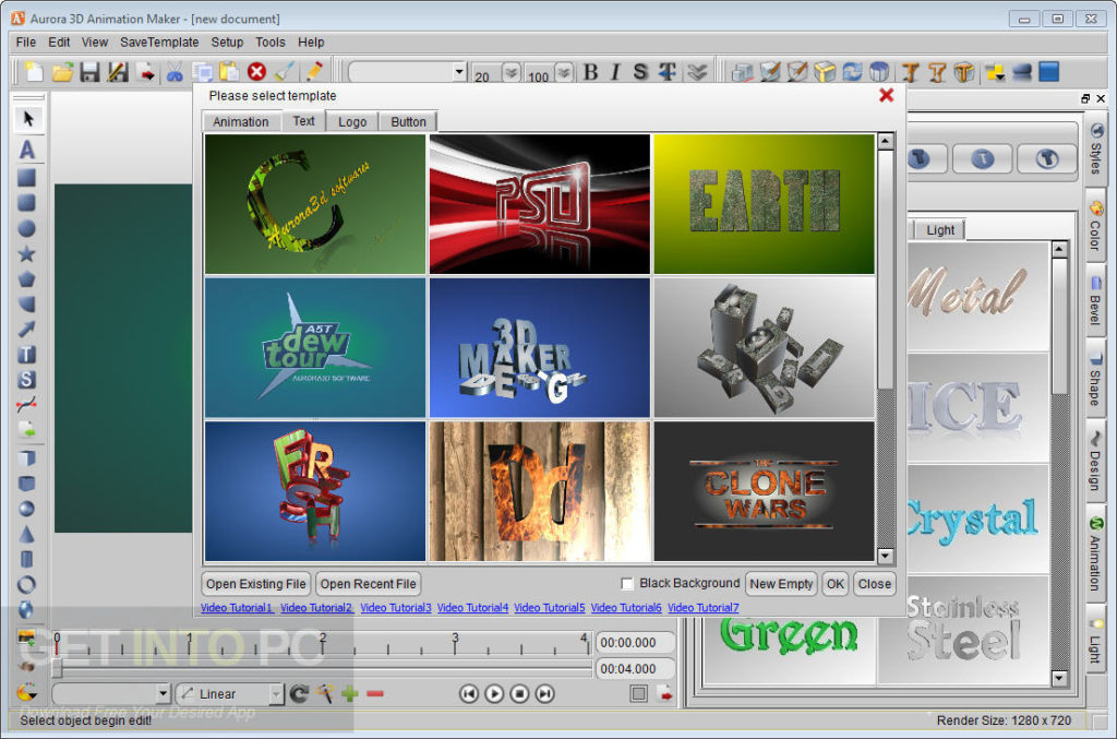 Aurora 3D Animation Maker Offline Installer Download